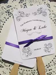 beautiful wedding programs wedding programs lavender paperie wedding invitations