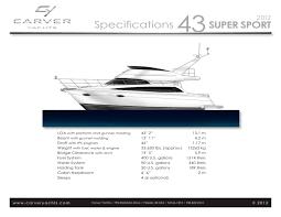 43 super sport 2013 carver yachts pdf catalogues