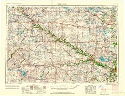 Topography Map New Ulm Mn U20141967 Map From The Usgs Historical Topographic Map