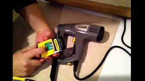 Electric Staple Gun For Upholstery Stanley Electric Stapler Brad Nailer Youtube