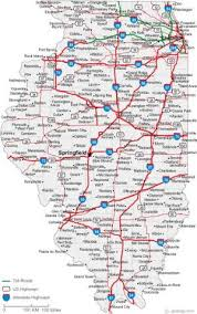 illinois has updated state highway maps our times