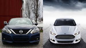 Nissan Altima Platinum - 2016 nissan altima vs 2016 ford fusion youtube