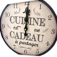 horloge murale pour cuisine stunning horloge murale pour cuisine