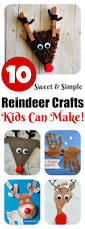 Kids Reindeer Crafts - reindeer crafts kids can make 10 fun ideas letters from santa