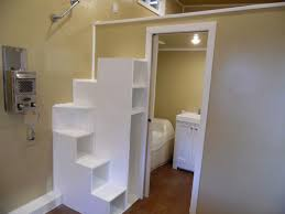 Used Kitchen On Wheels For Sale by Best 25 Tiny House Stairs Ideas On Pinterest Tiny House Storage
