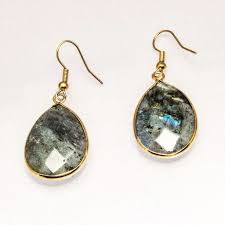drop earrings faceted labradorite drop earrings lattner earrings 59 99