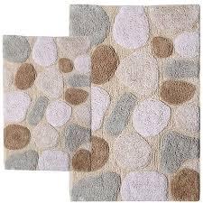 pebbles 2pc bath rug set walmart