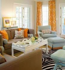 furniture yellow and white curtains living room with white color