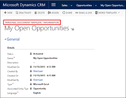 analyze your data with excel templates microsoft dynamics 365