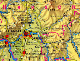 geographical map of germany physical map of germany in german zoom