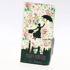 book phone iphone flip wallet case mary poppins for iphone