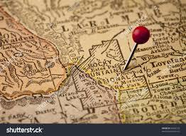 Rocky Mountain National Park Map Rocky Mountain National Park On Vintage Stock Photo 61895125