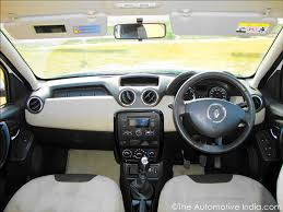 New Duster Interior Renault Duster Review U0026 Pictures