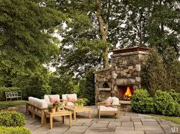 home design ideas outdoor patio fireplace style