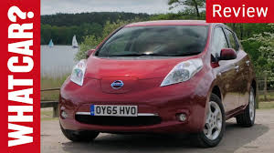 car nissan nissan leaf review what car youtube
