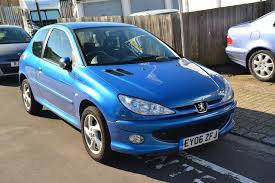 peugeot 206 2016 used peugeot 206 blue for sale motors co uk