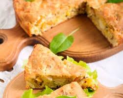 quiche cuisine az recette quiche sans pâte au thon mimolette et fines herbes