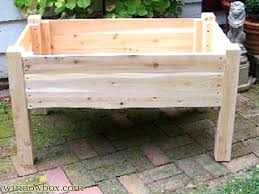 elevated planter box u2013 simplir me
