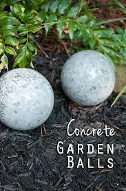 how to make a garden garden balls diy concrete and concrete