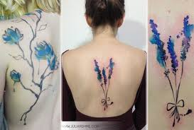lovely flowers watercolor tattoos julia rehme stylefrizz photo