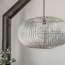 silver pendant light shade bamboo pendant light shade silver grey save 40 pendant lighting