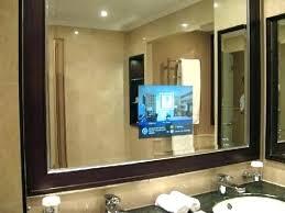 built in bathroom mirror mirror with built in tv gruzoperevozku com