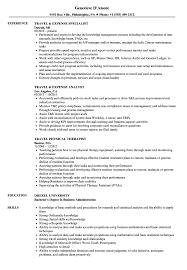 travel resume samples velvet jobs