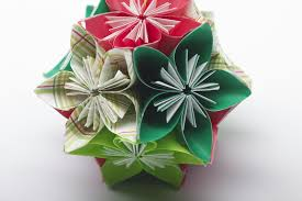 folded flower ornament favecrafts