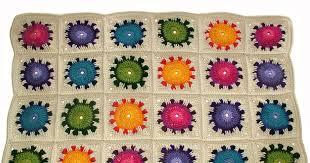 Sunflower Rugs Sunflower Happiness U2013 A Crochet Rug Afghan Pattern Renate
