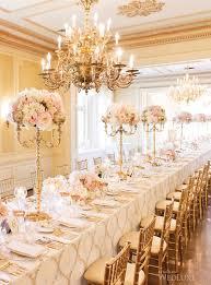 Wedding Chandelier Centerpieces Golden Centerpiece To Add Glitz Glow In Wedding U2013 Weddceremony Com