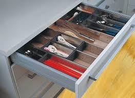 qama cuisine aménagement de tiroir bacs de rangements inox modulable