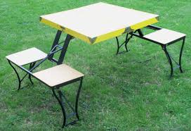 fold out picnic table vintage fold up picnic table handy table and andysatticvintage