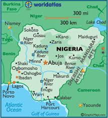 map of nigeria africa about the setting akata witch