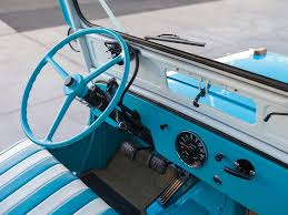 manual windshield wiper restored 1960 willys gala expected to pull 35 000 at auction
