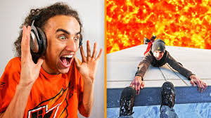 Challenge Kwebbelkop Reacting To The Floor Is Lava Challenge