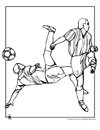 Soccer Coloring Page Woo Jr Kids Activities Soccer Coloring Page