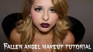 fallen angel halloween makeup tutorial youtube