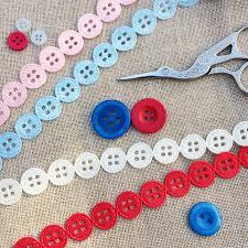 ribbon trim button satin ribbon trim by stitchkits notonthehighstreet