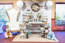 rustic baby shower kara s party ideas blue rustic chic baby shower kara s party ideas