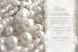30 ans mariage faire part noces de perles