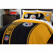 Steelers Bathroom Set Buy Today Pittsburgh Steelers Decor Bedding Sets Sheets Twin Full