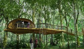 Treehouse Living Tree House Plans Free U2013 Home Interior Plans Ideas Unique And