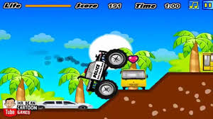 monster truck videos crashes monster truck police police car games online police crashes police