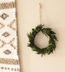 Natural Home Decor Natural Home Decor Preserved Wreath Boxwood And Cypress Leaf