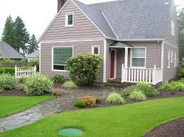 Landscape Curb Appeal - curb appeal before and after landscape design in a day