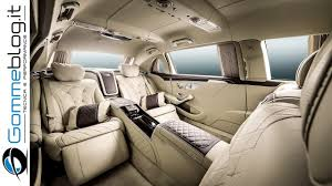 luxury mercedes maybach mercedes maybach s600 pullman top luxury car interior review