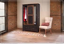 Door Armoire Pueblo Black Sliding Door Armoire Woodstock Furniture U0026 Mattress