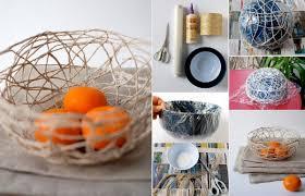 How To Make Home Decoration How To Make A String Bowl Home Design Garden U0026 Architecture