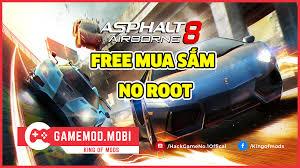mod game asphalt 8 cho ios offline game asphalt 8 airborne v3 6 0k mod full tiền gamemod