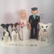 dog cake topper family pet cake toppers totally toppers